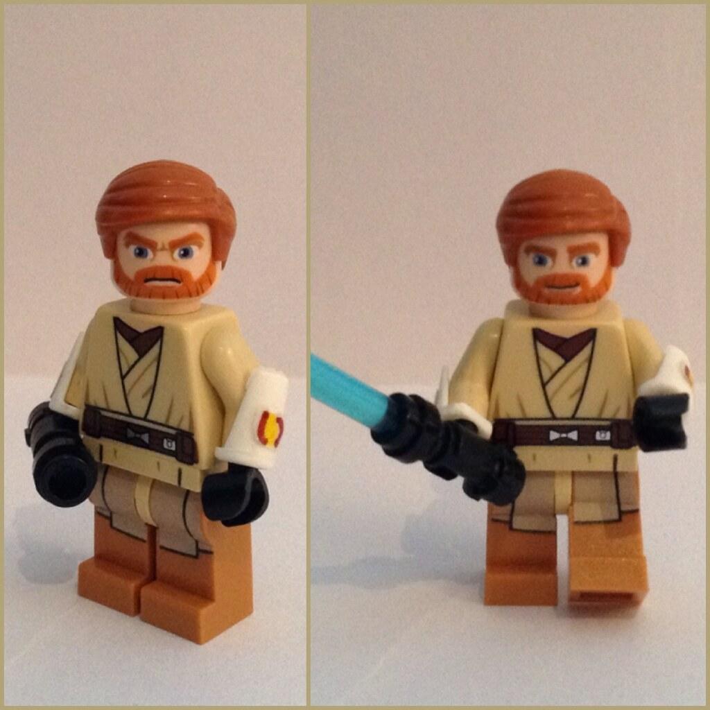 Lego custom star wars obi wan kenobi clone wars by customs overload