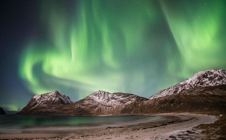 aurora - lofoten islands