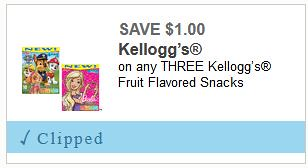 Fruit Snack Coupon