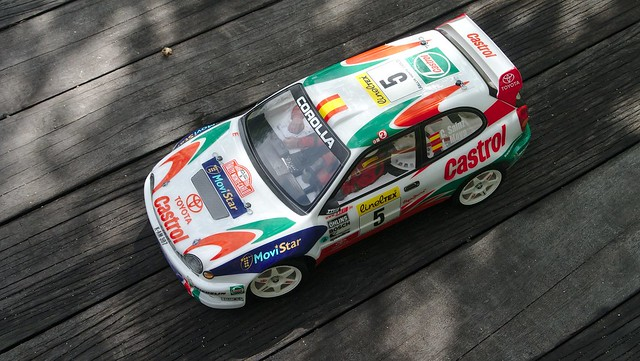 tamiya - [PHOTOS] Japanese rally cars from the 90s, Tamiya-style 32719990290_101b94719e_z