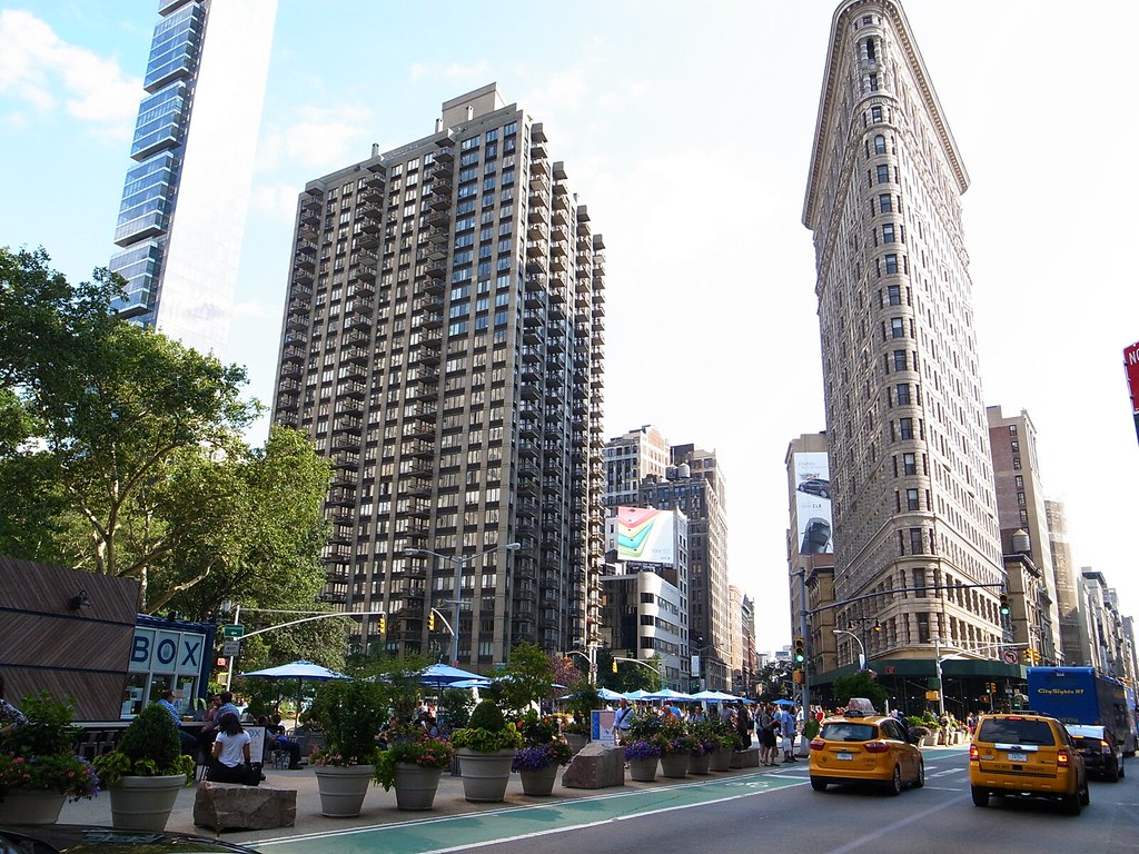 flat iron plazas