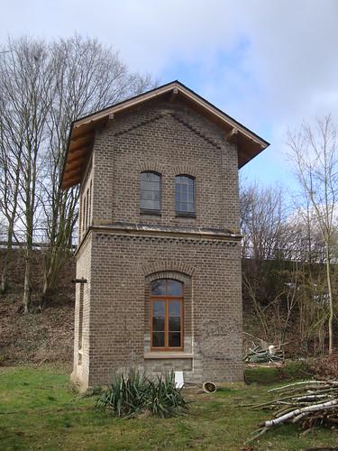 Wasserturm von 1870 in Hasbergen