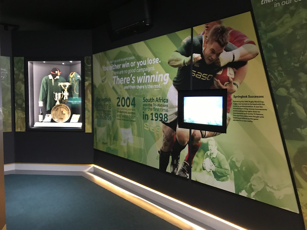 The Springbok Experience Rugby Museum