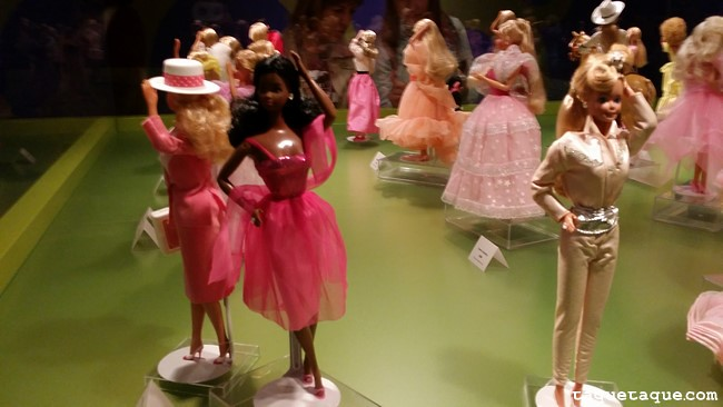 Barbies de 1980s (vista posterior)