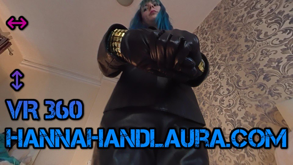 Giantess Pov 360 Vr Video Girls In Leather Gloves, Jacket -6299