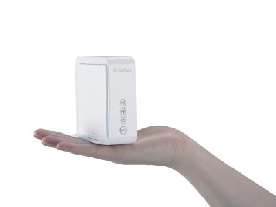 The AirTies 4920 1600 Mbps 802.11ac Video Grade Wireless Booster is available in Singapore exclusively to Singtel Fibre Broadband subscribers.
