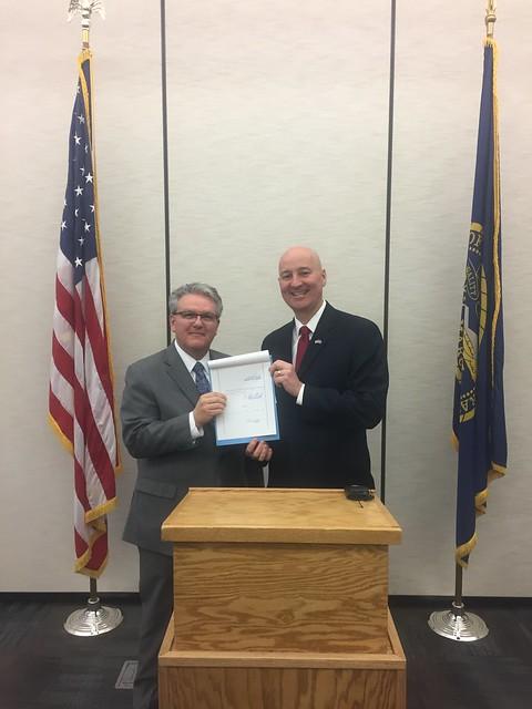 Gov. Ricketts Signs Religious Freedom Legislation