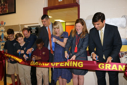 Ribbon Cutting at MCAA-Innovative Learning Lab by Microsoft