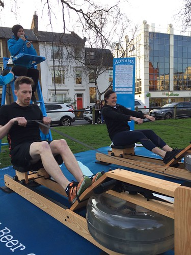 Adnams Rowing Challenge Day 2 - Parsons Green