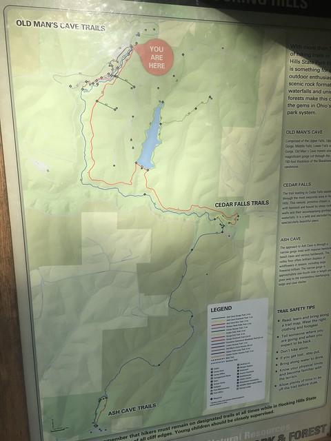 Grandma Gatewood Trail Map