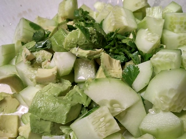 Obsessively Good Avocado-Cucumber Salad