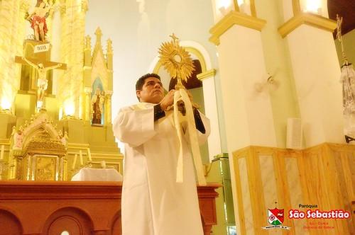 Missa aniversário padre Elmir e Adoração do Santíssimo