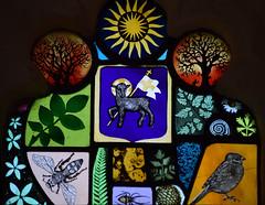 agnus dei (millennium window detail by Adam  O'Grady)