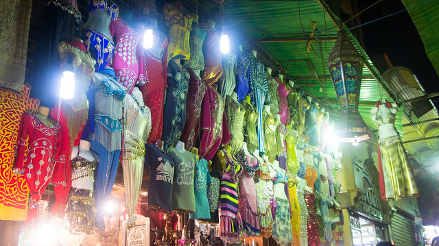 Women's fashion in Khan El-Khalili