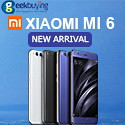 Xiaomi Mi6 Presale @ Geekbuying