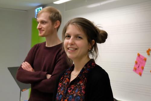 Per Kolsgård och Lisa Österlund