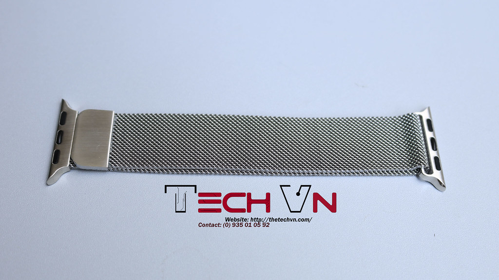 Dây thép apple watch milanese loop 1