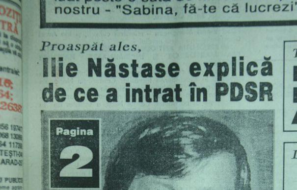 Cum a jefuit Ilie Nastase, 9 clase, statul roman cu un milion de dolari, prin intermediul PSD