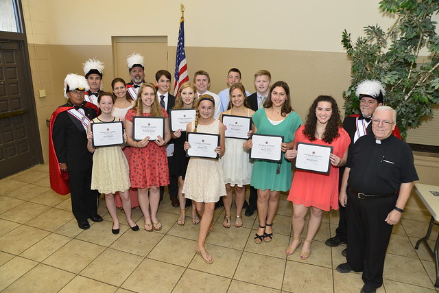 Knights of Columbus Scholarship Awards 2016