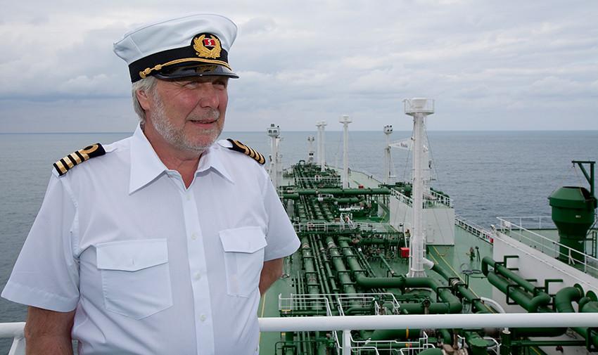 Master onboard Stena Crystal Sky | Stena .com | Flickr