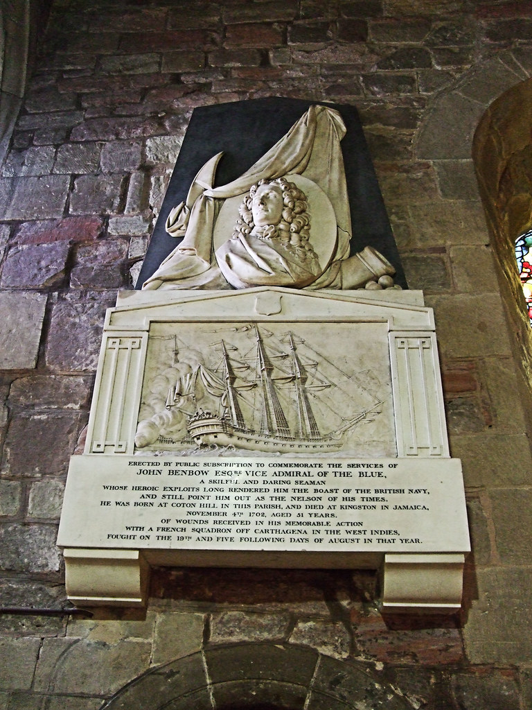 West Point >> Admiral Benbow Memorial, St Mary's Church - Shrewsbury | Flickr