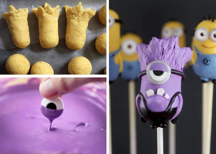 Purple Minion Cake Pan
