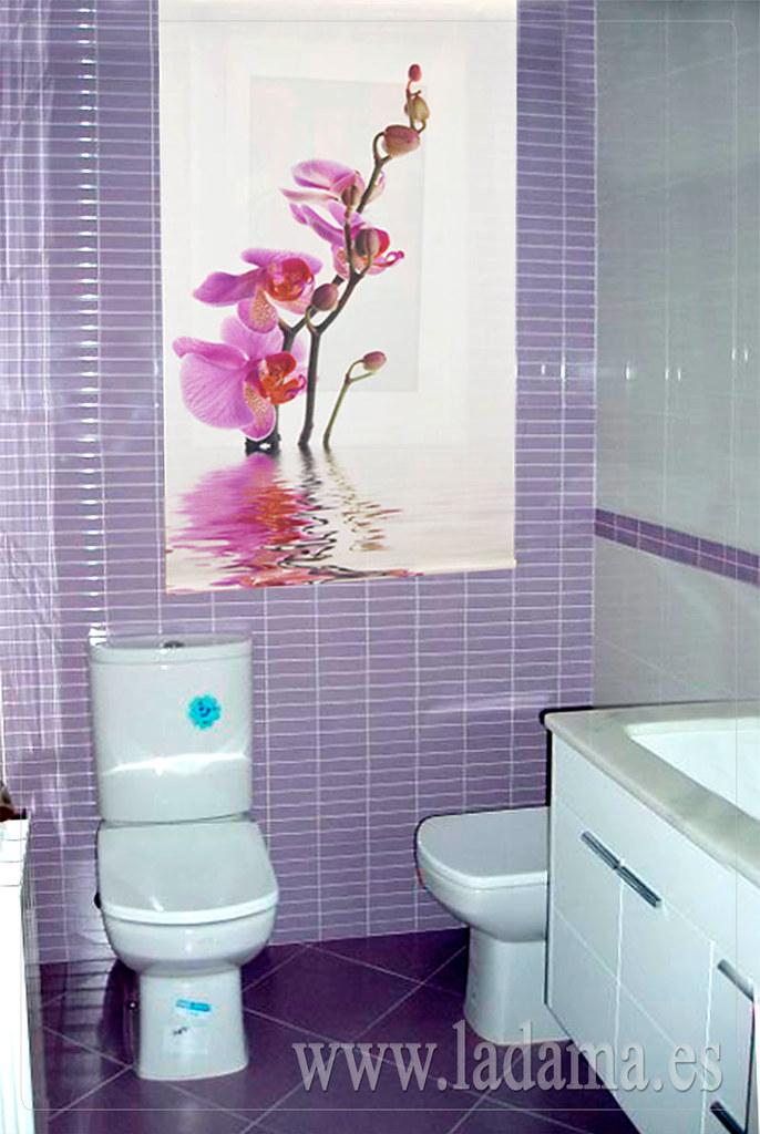 Estores Para Baño | Estor Enrollable Fotografico Para Bano Estampacion Digit Flickr