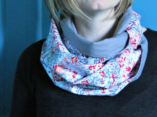 x stitch scarf | by :: Nova
