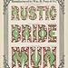 Specimens of chromatic wood type, borders 1874 - Columbia U Rustic + Bride + Mun) Corinthian type