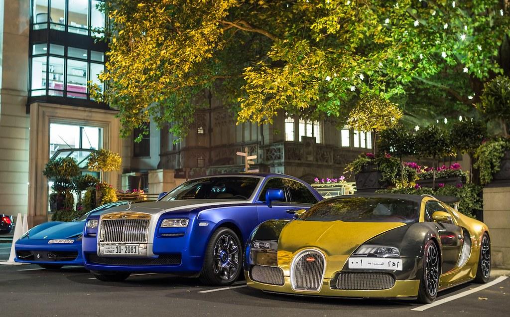 Bugatti Veyron - Rolls Royce Ghost - Ferrari 458 | Shaker ...