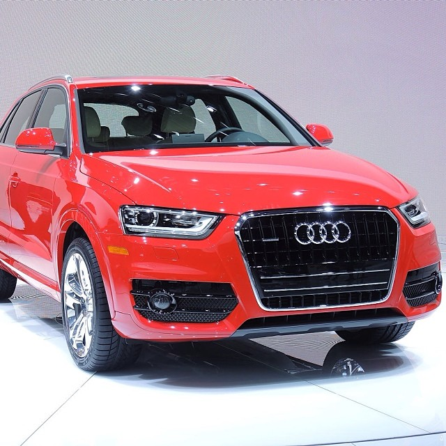 Red Beauty: 2015 #Audi Q3 @ NAIAS 2014 ... #naias #naias20