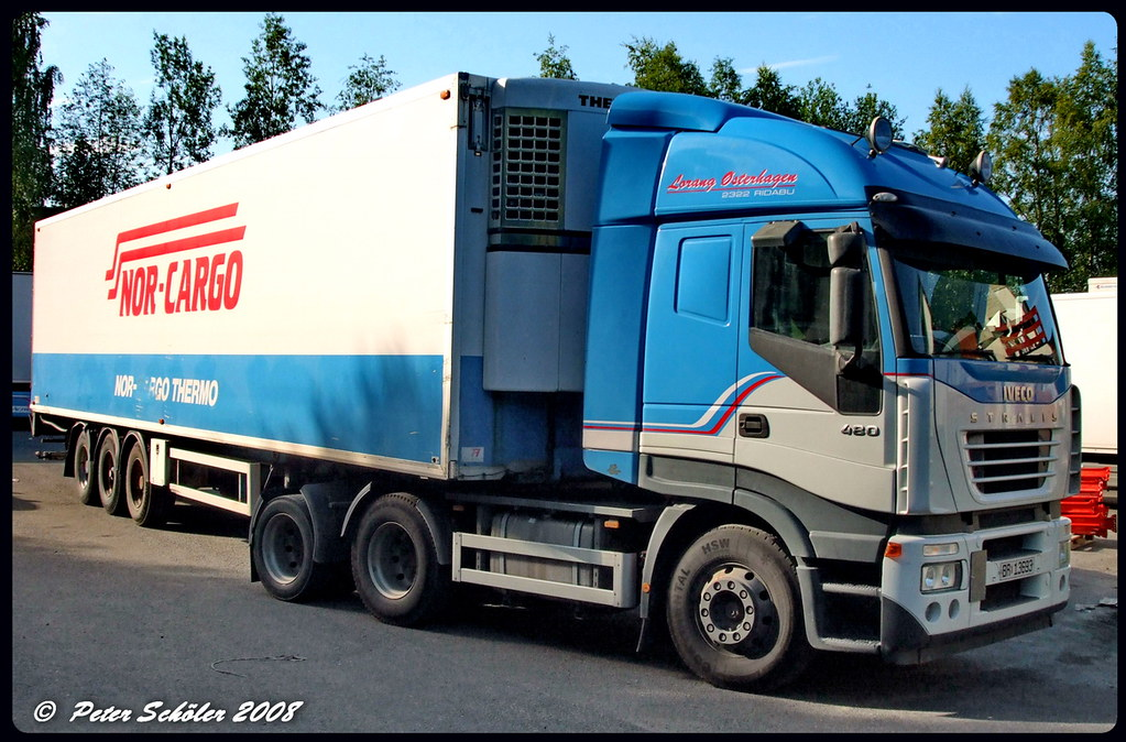 IVECO STRALIS - Nor-Cargo - Norge | PS-Truckphotos | Flickr