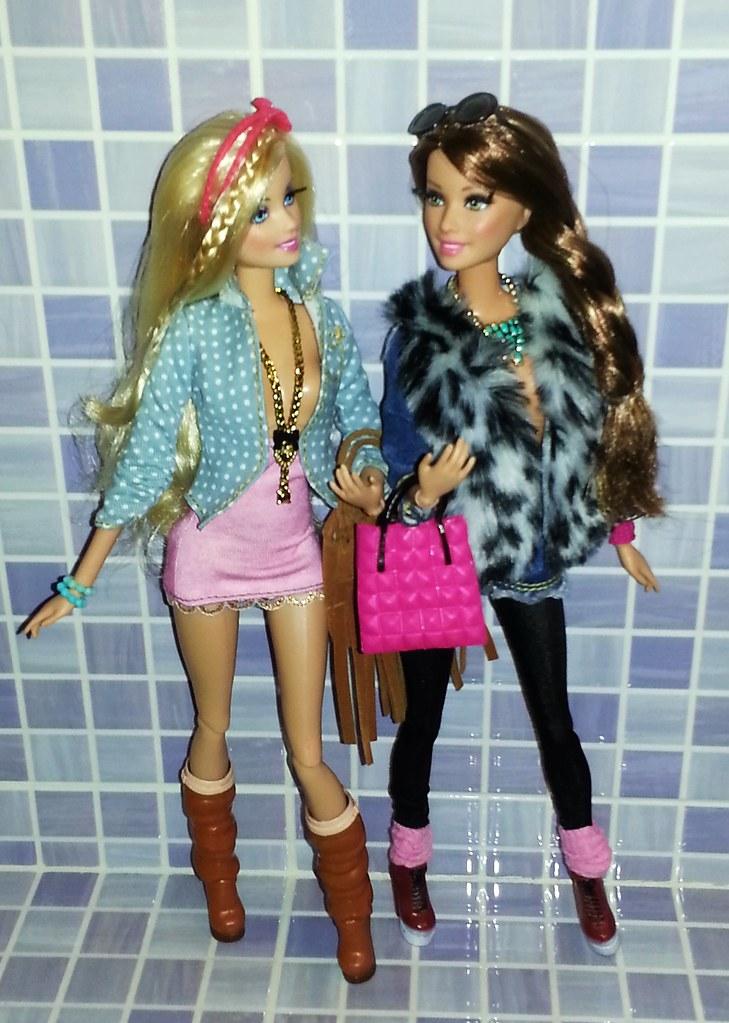 2014 Glam Luxe Style Barbie Teresa Barbie Teresa