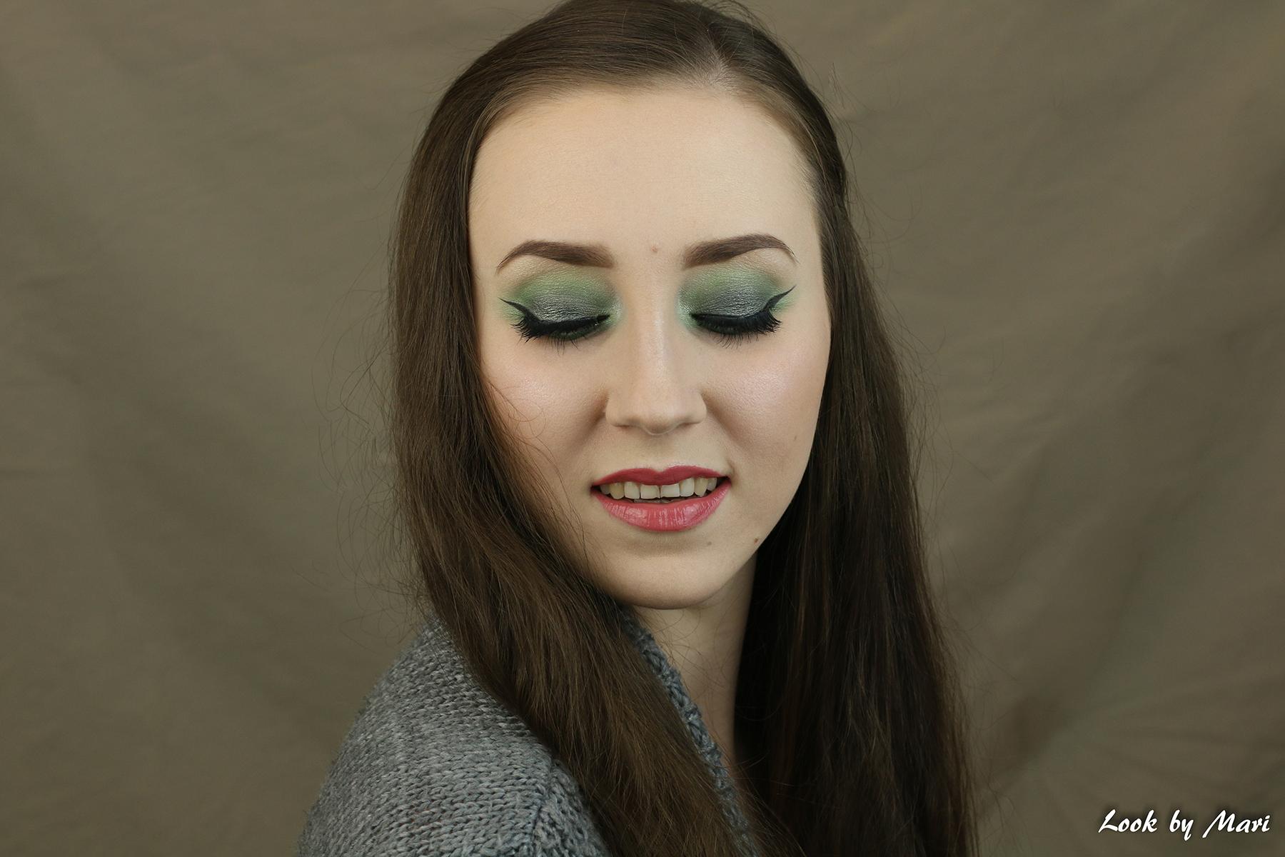 7 vihreä silmämeikki ideat tutoriaali ideoita siniselle silmille
