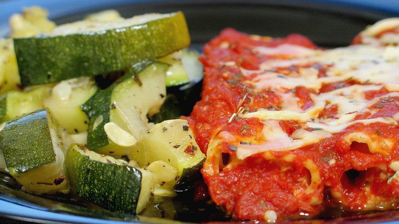 Munch Madness: Grilled Zucchini vs. Baked Manicotti