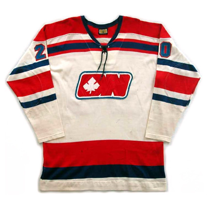 Ottawa Nationals 1972-73 H F jersey