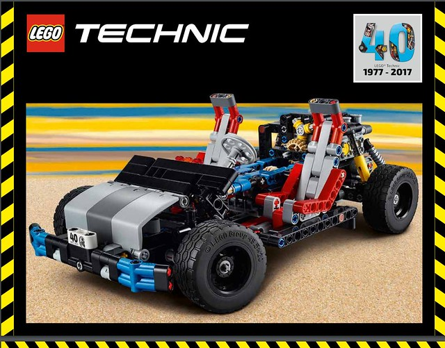 LEGO Technic 40ème anniversaire instructions