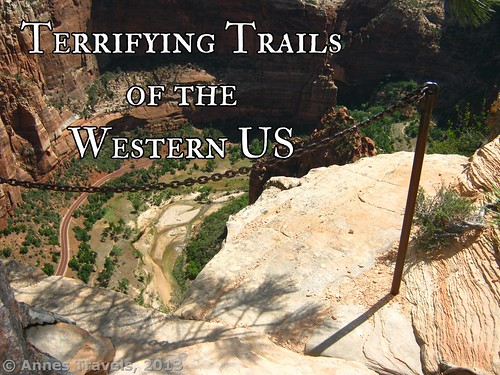 Part of the trail up Angel's Landing, Zion National Park, Utah