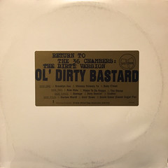 OL'DIRTY BASTARD:RETURN TO THE 36 CHAMBERS; THE DIRTY VERSION(JACKET A)
