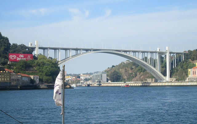 Arrábida Bridge, Porto from River Douro