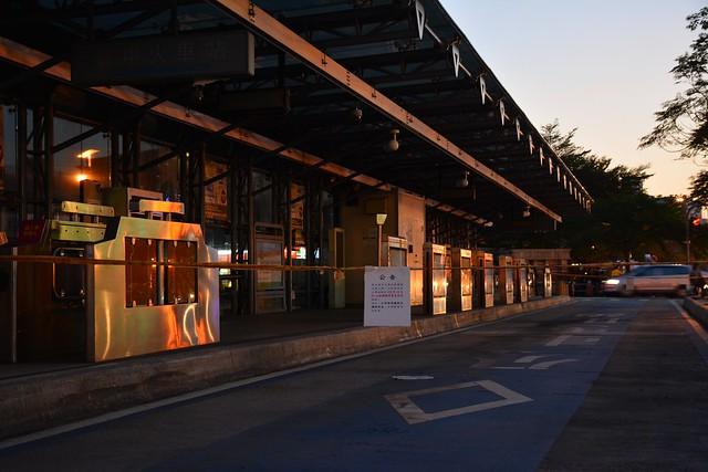 再見,A01臺中火車站