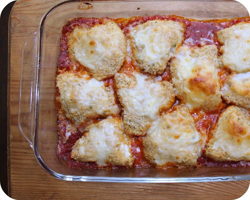 Miss F Saw Oven Baked Chicken Parmesan On An Episode Of Pioneer Woman But I Didn T Love The Recipe At All She Really Wanted To Make It So I Decided To