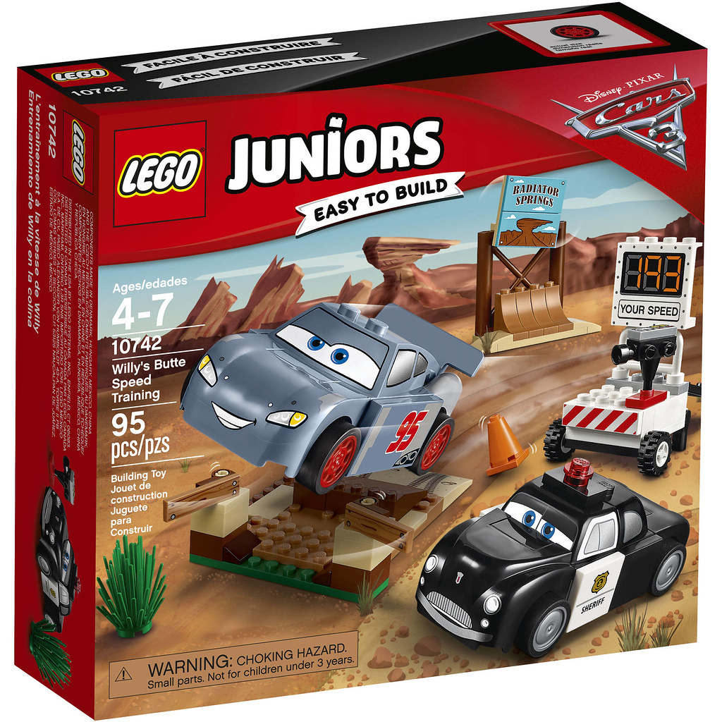 LEGO Juniors Cars 3 10742 - Willy's Butte Speed Training