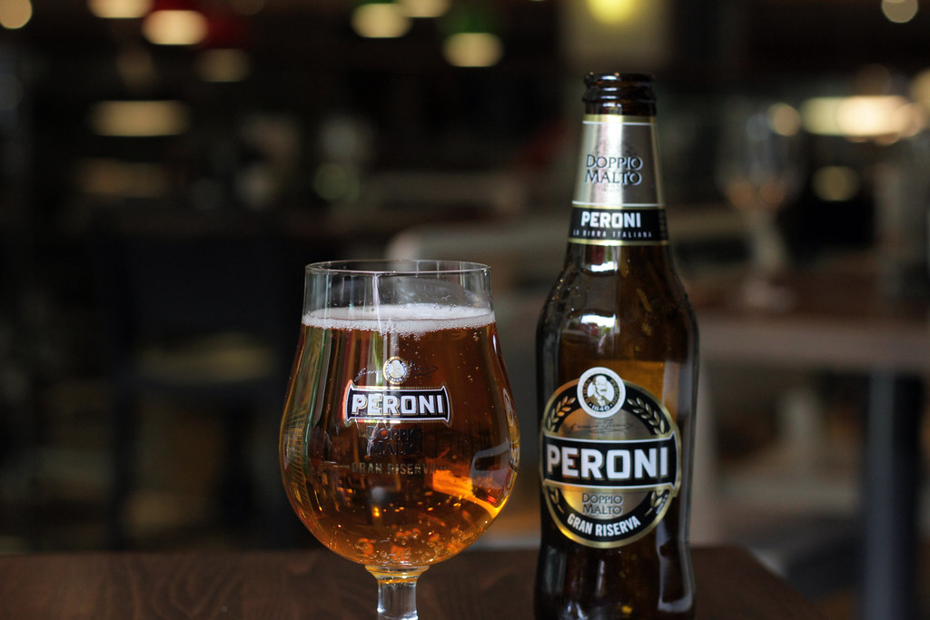 Peroni Sheffield Beer