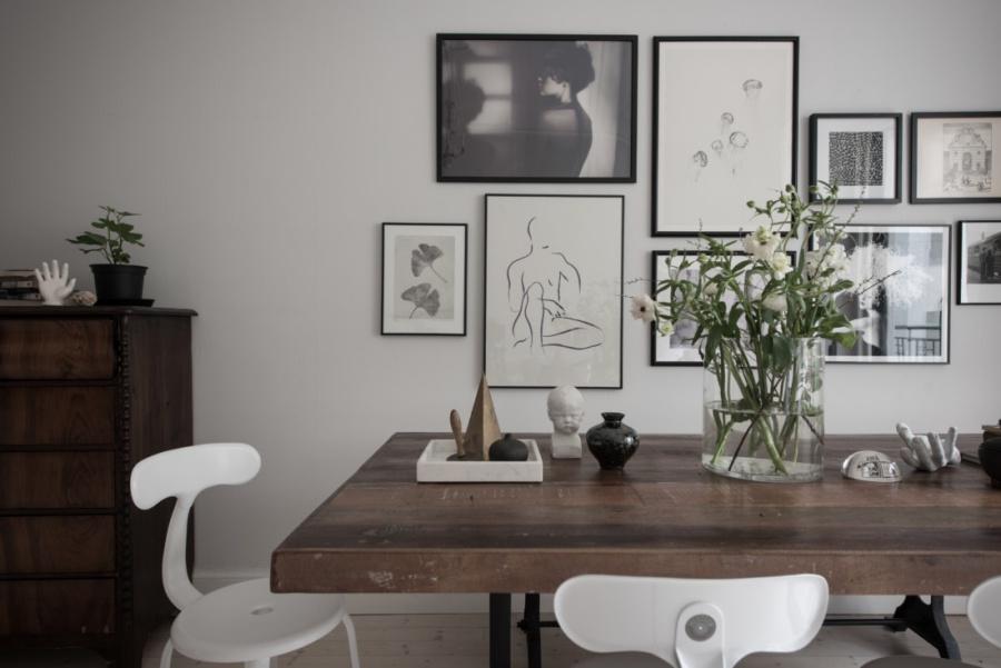 Scandinavian Home With Soft Feminine Colors