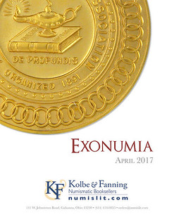 KOLBE & FANNING ISSUE EXONUMIA CATALOGUE