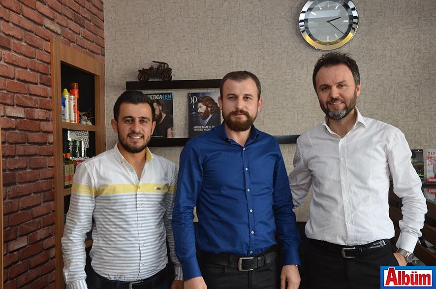 Hacı Aksu, Mehmet Ayyıldız, Ömer Özsoy