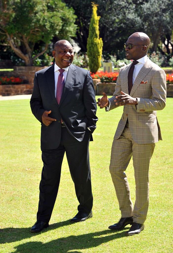 Minister Malusi Gigaba briefs Deputy President Cyril Ramap… | Flickr