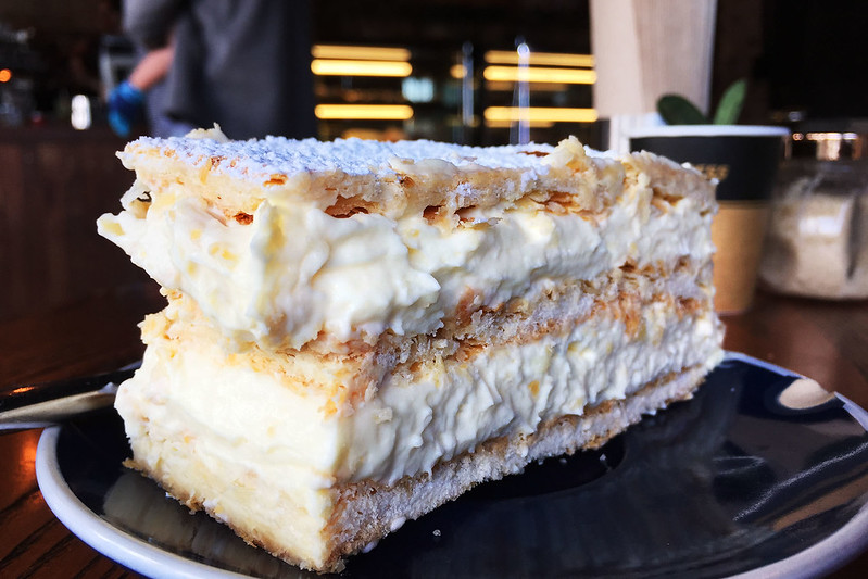 Vanilla slice, Bakehouse South Coogee