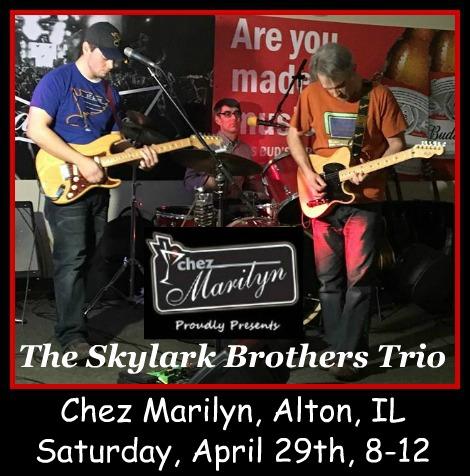 The Skylark Brothers Trio 4-29-17